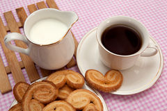 Pastries and tea Royalty Free Stock Image