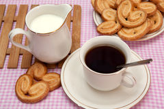 Pastries and tea Stock Image