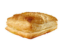 Pastry. Isolated on white (clipping path included Royalty Free Stock Photos