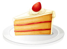 Pastry. Illustration of a pastry on a white background Royalty Free Stock Image