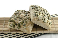 Pastry. Fresh and tasty pastry with pumpkin seeds Stock Photography