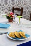 Pastry argentinian empanadas Stock Photos