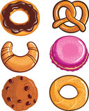Pastry assortments Stock Image