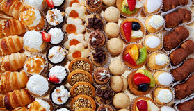 Pastry. Background of freshness and colorful pastry Stock Photos