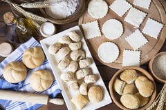 Pastry background Royalty Free Stock Images