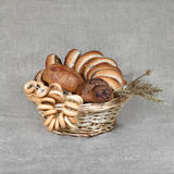Pastry and bagles Royalty Free Stock Image