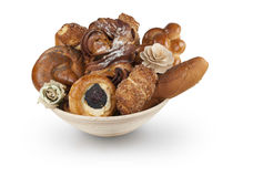 Pastry basket Royalty Free Stock Photos