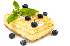 Pastry with berries Royalty Free Stock Image