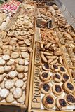 Pastry and biscuits Stock Image