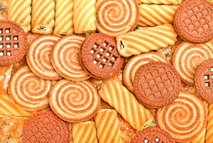 Pastry, biscuits and cookies Royalty Free Stock Photos