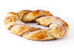 Pastry braid Royalty Free Stock Photography