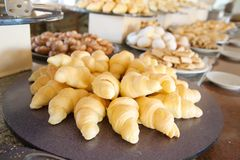 Pastry in buffet Royalty Free Stock Image