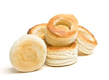 Pastry cases royalty free stock image