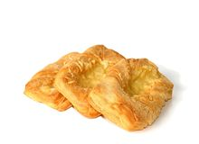 Pastry with cheese. Warm and tasty Royalty Free Stock Images