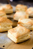Pastry with cheese Royalty Free Stock Image
