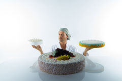 Pastry chef Stock Image