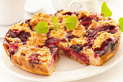 Pastry with Cherry Royalty Free Stock Photos