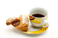 Pastry and coffee Royalty Free Stock Images