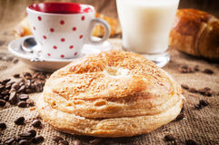 Pastry and coffee Stock Photography