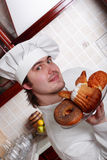 Pastry cook Royalty Free Stock Image