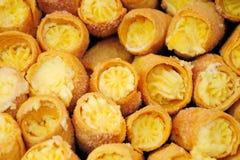 Pastry crispy milk Stock Photos