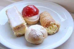 Pastry desserts Stock Photo