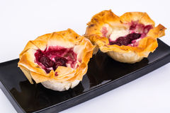 Pastry from filo pastry. Studio Photor Stock Photography