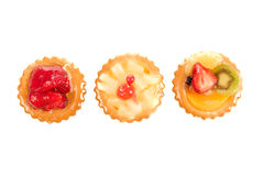 Pastry and fruit Royalty Free Stock Photography