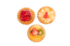 Pastry and fruit Stock Image