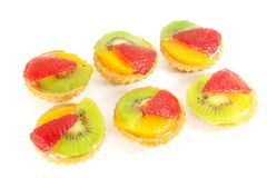 Pastry Fruit Tarts Royalty Free Stock Photo