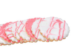 Pastry in icing Royalty Free Stock Images