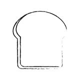Pastry icon image. Bread slice pastry icon image vector illustration design Royalty Free Stock Photo