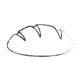 Pastry icon image. Bread pastry icon image vector illustration design Royalty Free Stock Photos