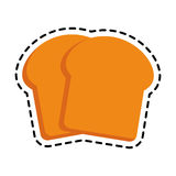 Pastry icon image Royalty Free Stock Photos