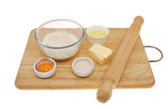 Pastry ingredients Royalty Free Stock Images