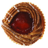 Pastry with Jam Stock Photography