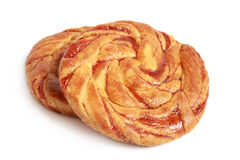 Pastry with jam Royalty Free Stock Photos