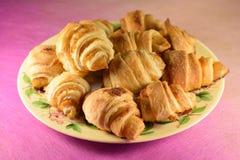 Pastry with marmalade. Homemade tasty smack Royalty Free Stock Photos