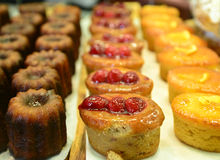 Pastry and muffins Royalty Free Stock Photos