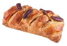 Pastry with pecan nuts Royalty Free Stock Photos