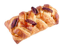 Pastry with pecan nuts Stock Photo