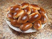 Pastry. Piroshki. Stock Images