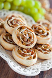 Pastry roll Stock Images