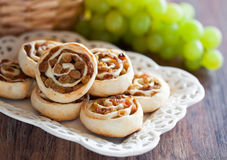 Pastry roll Royalty Free Stock Photo