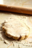 Pastry and rolling pin Royalty Free Stock Photo
