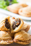 Pastry samosas Royalty Free Stock Photo