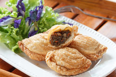 Pastry samosas Royalty Free Stock Images