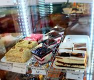 A pastry shop Royalty Free Stock Images