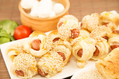 Pastry snack Royalty Free Stock Images