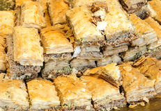 Pastry stuffed with almonds, Stock Photography